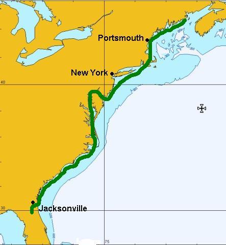 Alfa Img  Showing Gt Eastern Coast Inland Waterway